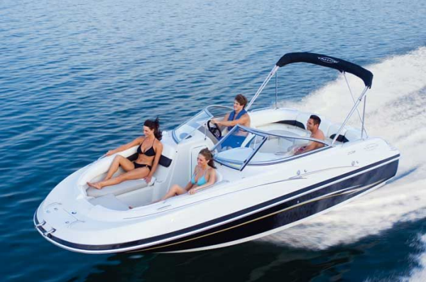 Hurricane sundeck sport 20ft boat for rent in miami miami for Small motor boat cost