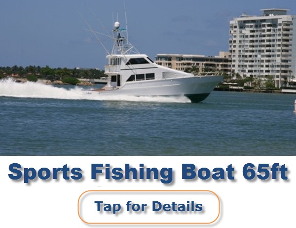 Yachts for charter in miami best rates large fleet for Miami fishing party boat